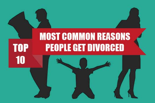 Top 10 Reasons People Get Divorced [Infographic]